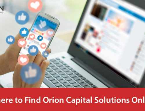 Where to Find Orion Capital Solutions Online